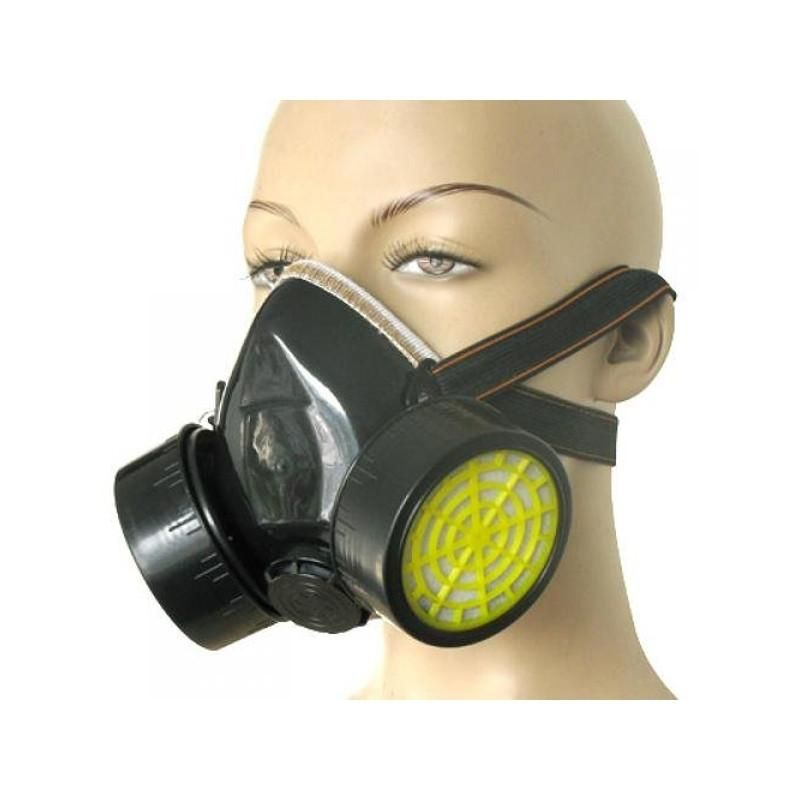 Spray Paint Mask >> Double Cartridges Anti Dust Spray Paint Respirator Breathing