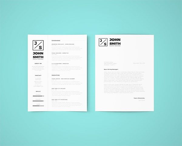 Free Creative Resume Template  Profesional    Free