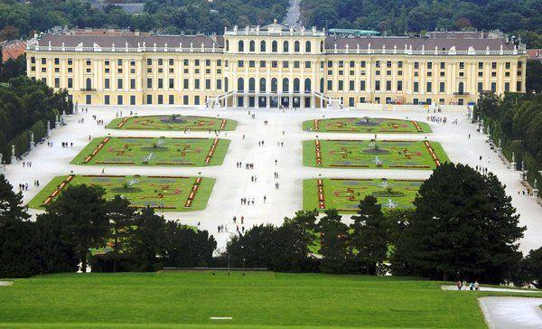 Resultado de imagem para palacio de versalhes na austria