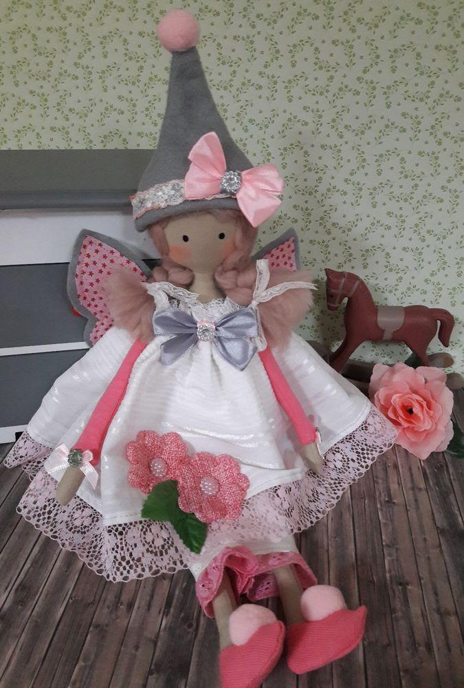 Traum Tilda Wichtel Fee Engel Deko Puppe Shabby Vintage Spitze ...