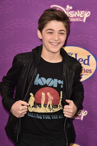 """Actor Asher Angel attends a screening of Disney Channel's """"Tangled Before Ever After"""" at The Paley Center for Media on March 4, 2017 in Beverly Hills, California."""