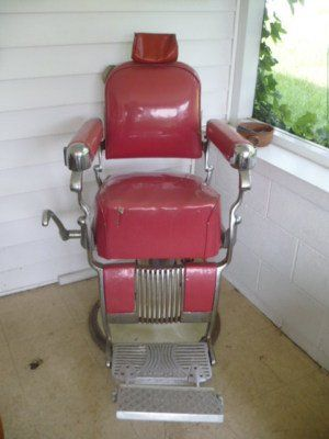 Belmont Barber Chair >> Vintage Belmont Barber Chair For Sale Barber Chairs Poles Signs