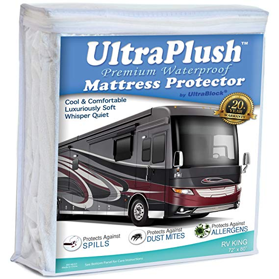Amazon.com: UltraPlush Premium RV King Waterproof Mattress ...