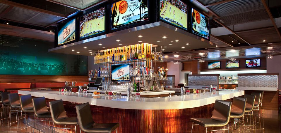 Image by Andris Silins on Sport bars Interior Bar