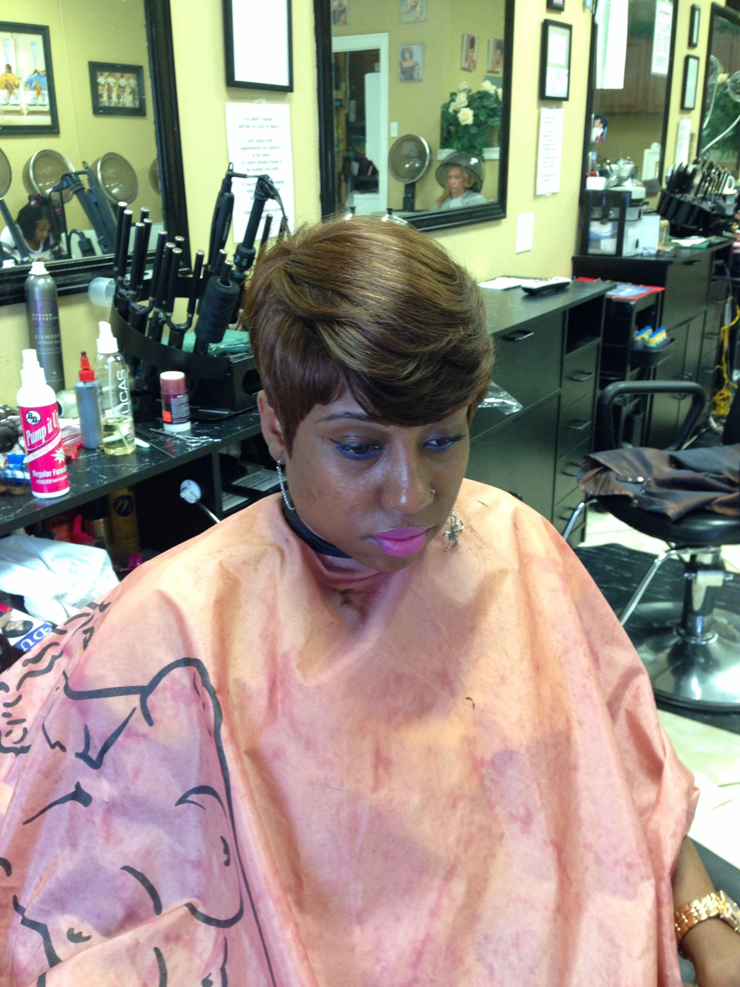 piece quickweave short style weave hair pinterest short