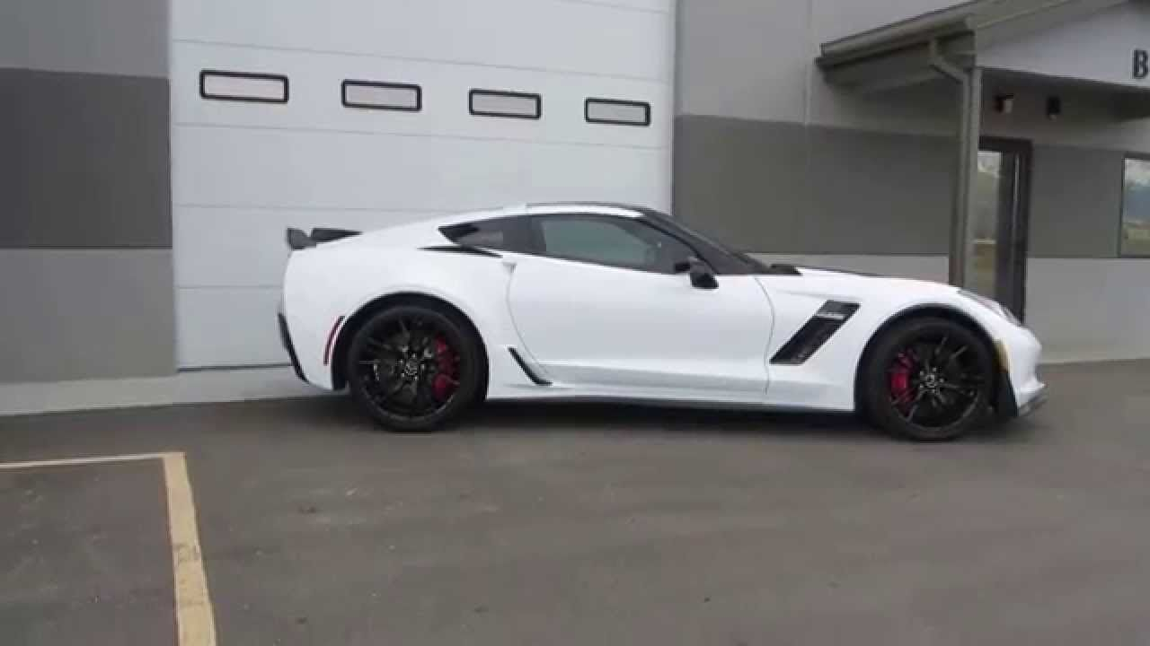 White Z06 Corvette Z06 Corvette Chevrolet Corvette Stingray
