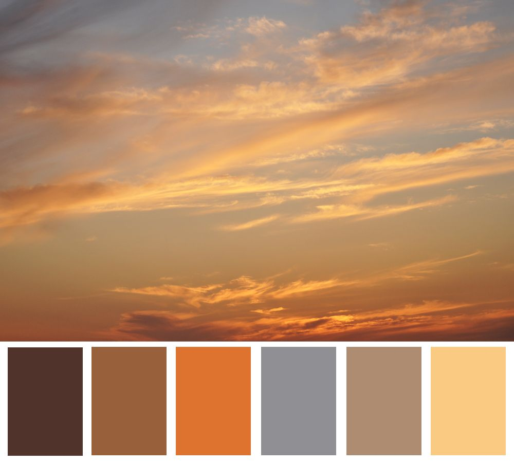 Sunrise In 2019 Color Schemes Color Theory Warm Colors