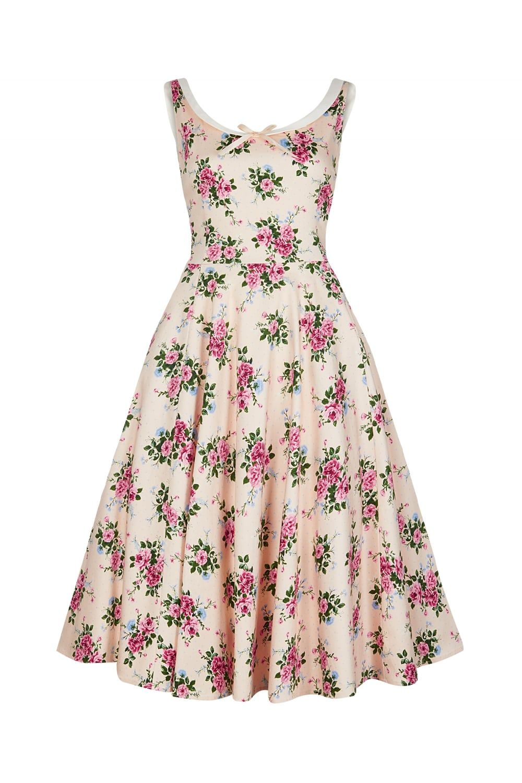1ea0813fa2cb Collectif Vintage Maddison 40s Floral Swing Dress