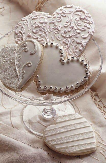 Inspiração_Cookies_Casamento_Formato_Coração