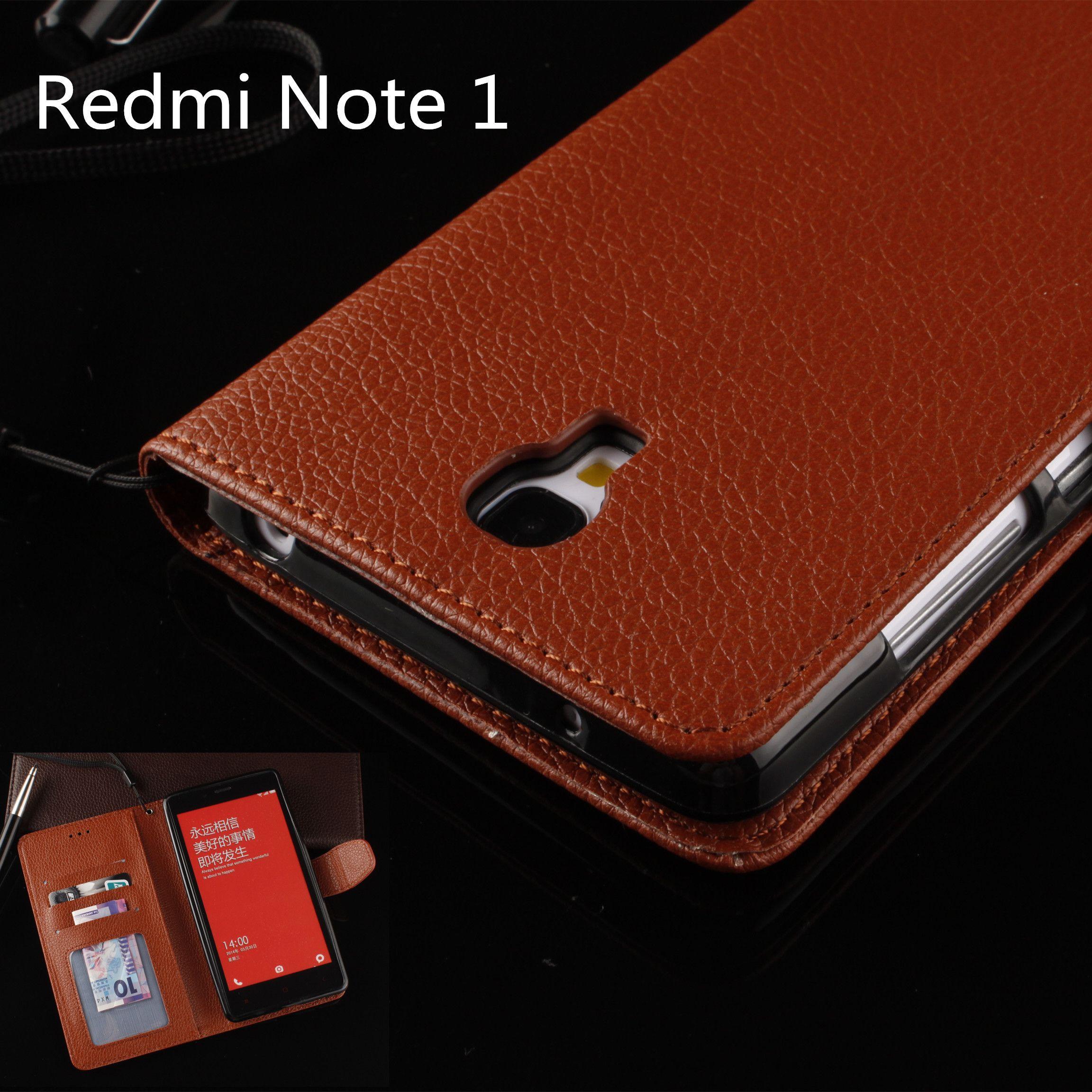 size 40 fdc1d f092e Flip phone case for Xiaomi Redmi Note 1 LTE 4G cover case drop ...
