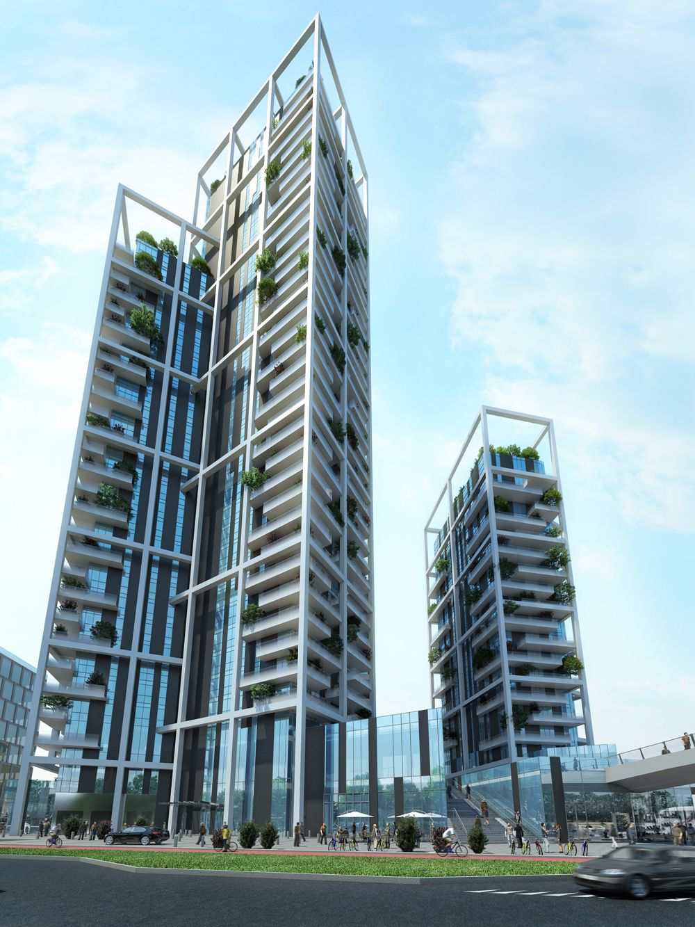 Porta nuova condominium arquitectonica ed - Via porta nuova milano ...