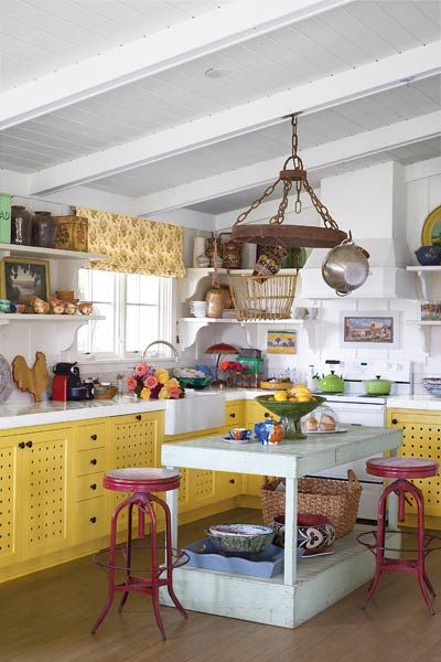 Create A Quirky Cottage Kitchen Cottage Style Kitchen Funky