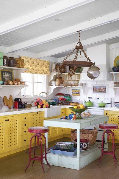 Kitchens Funky Kitchen Cottage Kitchens Quirky Kitchen