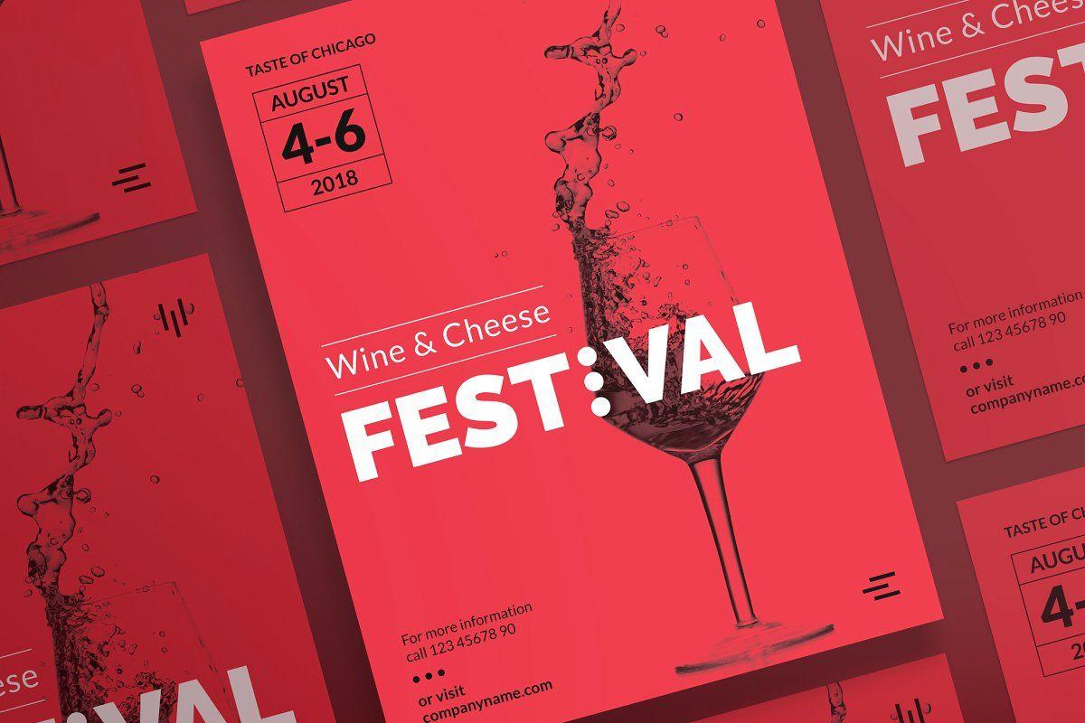 Posters Wine Festival Wine Festival Poster Template Modern Poster