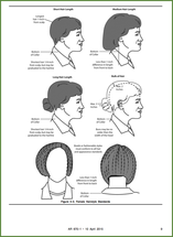 Army Regs Military Hair Army Hair Regulations Womens Haircuts