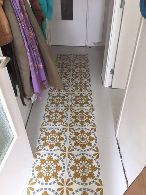 Sorzano Vinyl Floor Tiles Customer Pic Stuff To Buy Pinterest