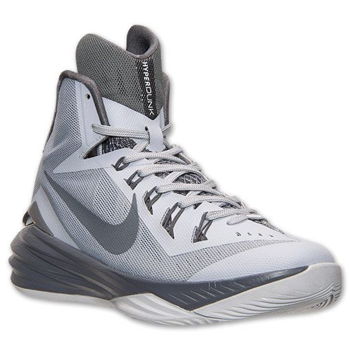 Men\u0027s Nike Hyperdunk 2014 Basketball Shoes | Finish Line | Wolf Grey/Pure  Platinum/