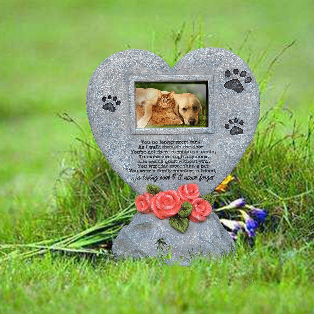 Petaflop Pet Memorial Stones Garden Backyard Marker Grave Tombstone Cat Dog Memorial Gifts Continue To Th Dog Memorial Gift Pet Memorial Stones Dog Memorial
