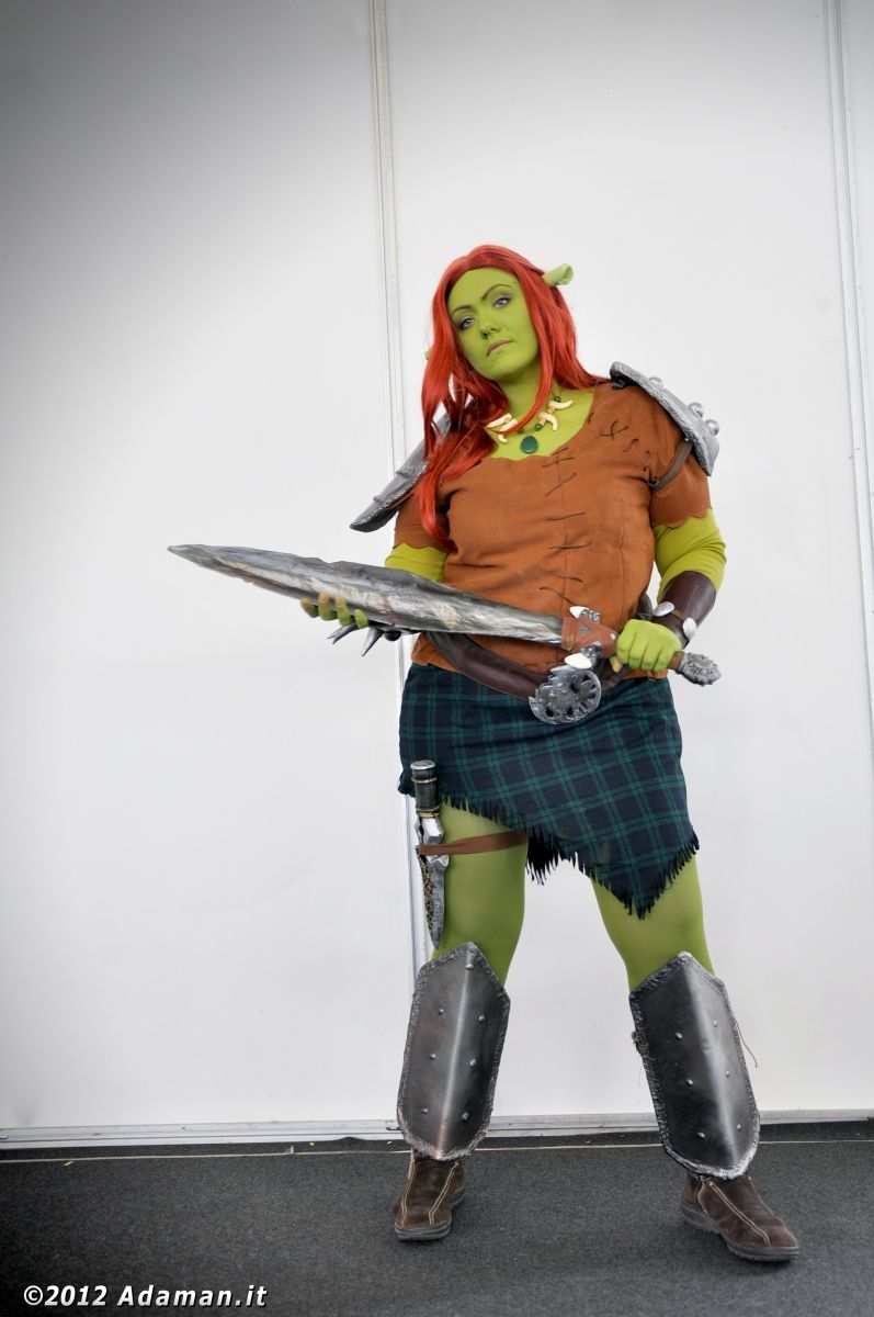Shrek Forever After Warrior Fiona Fiona Costume Shrek Costume Princess Fiona