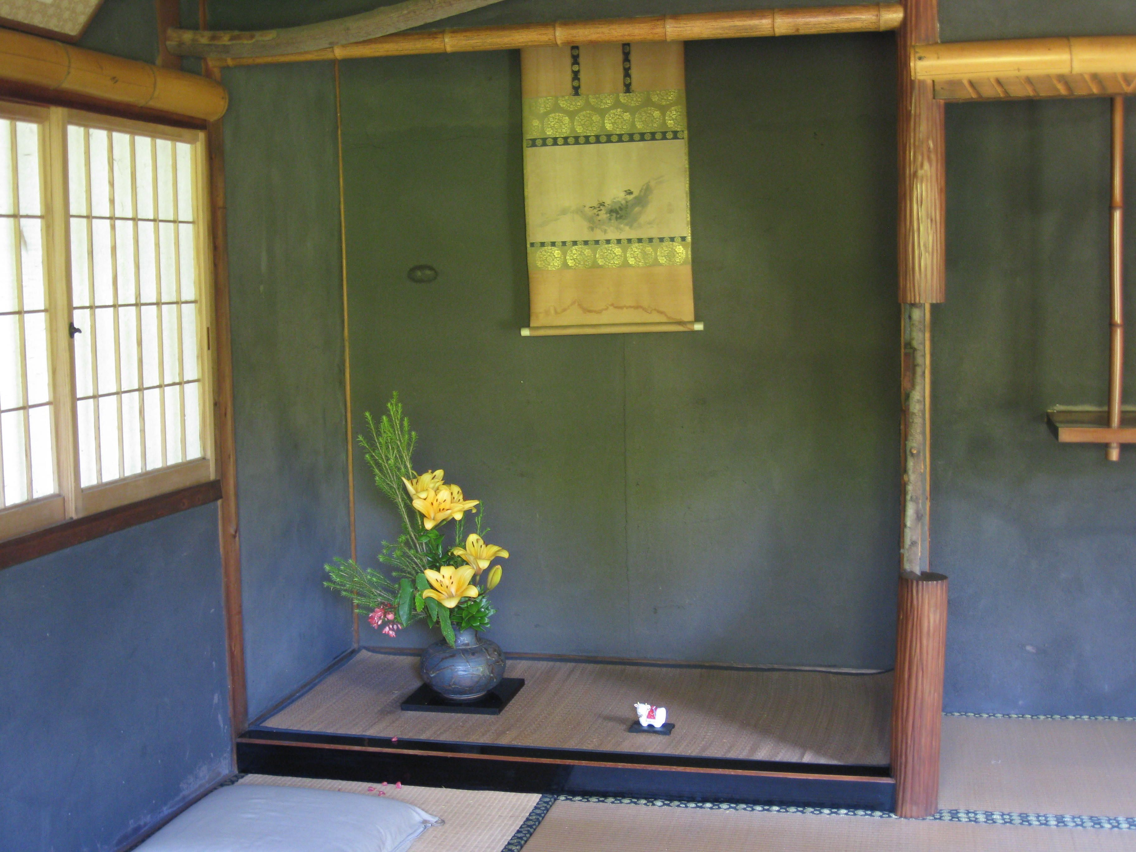 japanese house interiors. Japanese Tea House Interior The altar inside the teahouse
