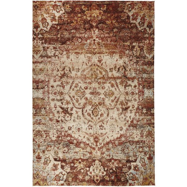 Finnian Rug (€1.970) ❤ liked on Polyvore featuring home, rugs, hand knotted rugs, hand knotted area rugs, flat woven rugs, flatwoven rug and loomed rugs