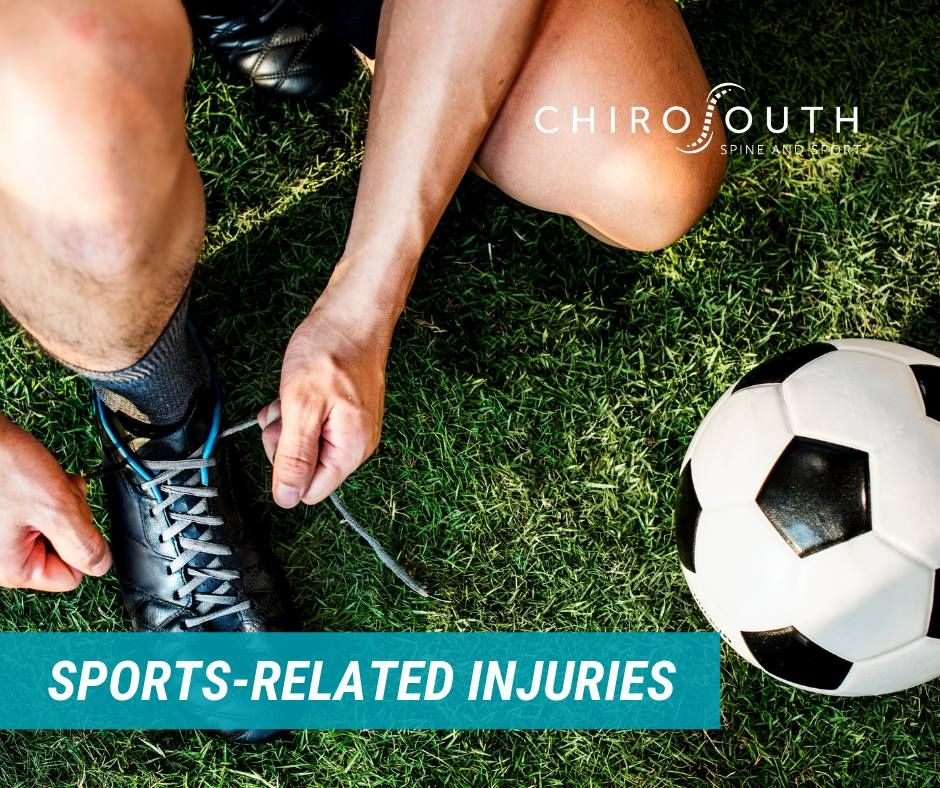 If you're suffering from an injury from playing sports