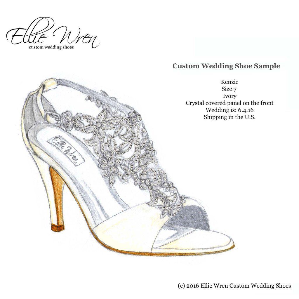 Ellie Wren Custom Wedding Shoes: Design Your Own Wedding Shoes