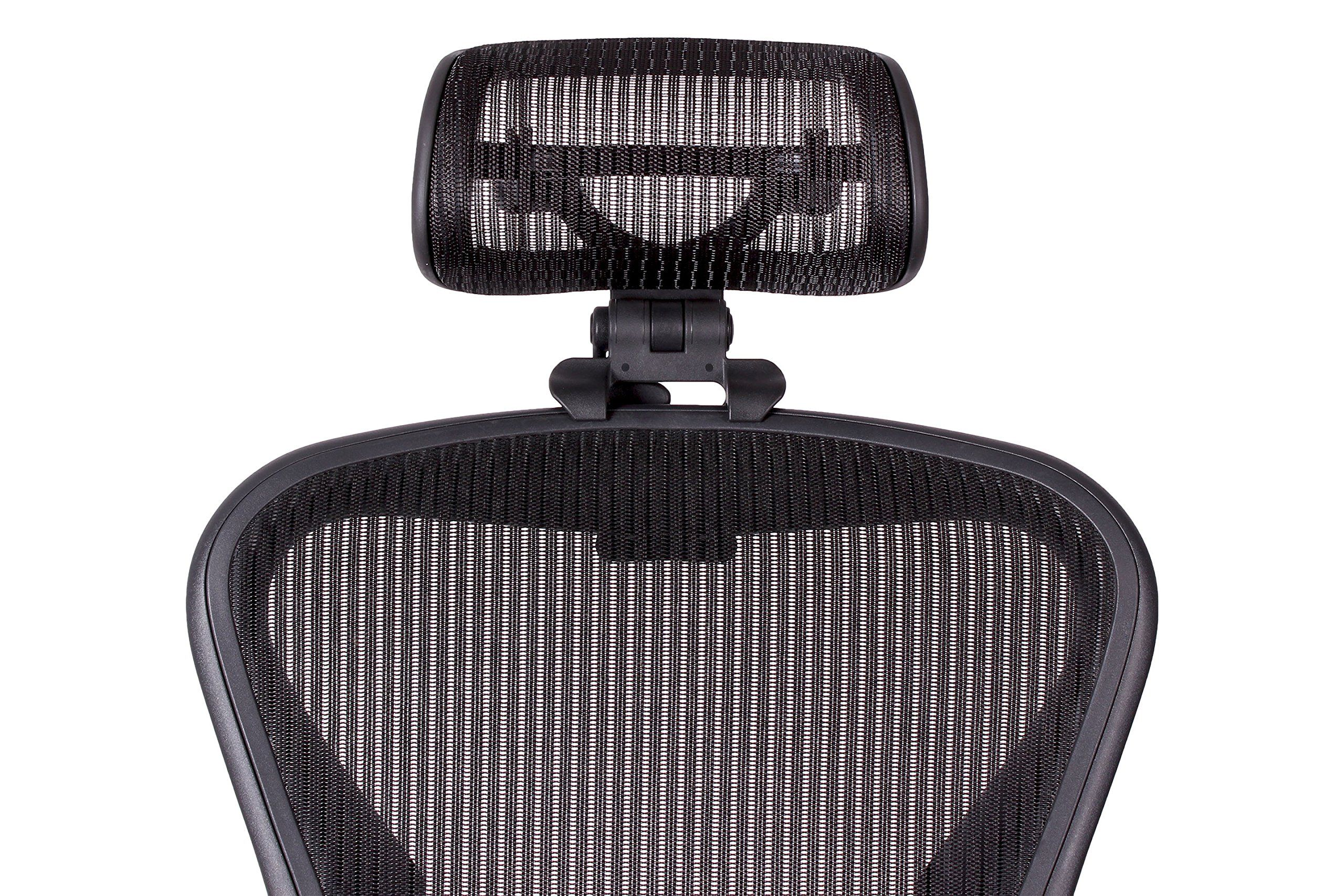 Headrest For Classic Herman Miller Aeron Chair H3 Carbon By Engineered Now Colors Match Classic Aeron Chairs Headrest The Originals Herman Miller Aeron Chair