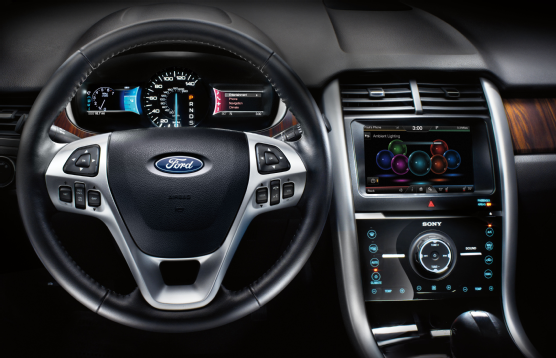 Wonderful 2013 Ford Edge Interior