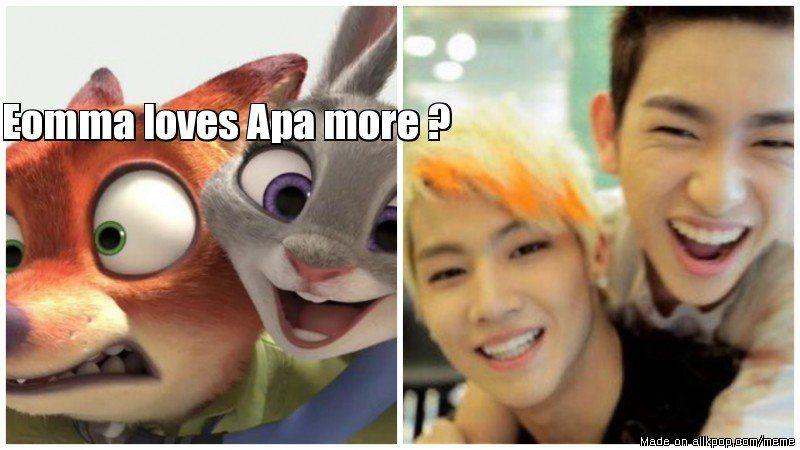 Fun Couple Meme : Zootopia couple in got7 allkpop meme center k pop k drama