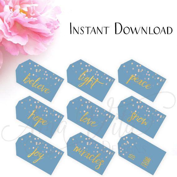 printable gift tags christmas gift tags hanukkah gift tags