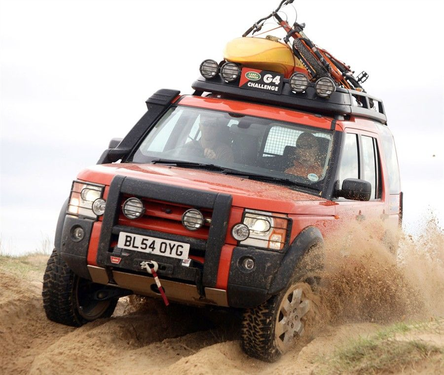 Land Rover Discovery 3 HSE In The Sand ★ App For Land