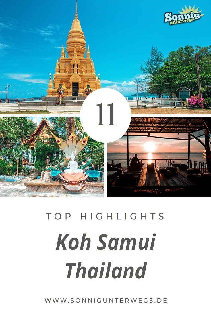 Die Top 11 Highlights auf Koh Samui | Sonnig Unterwegs Reiseblog #favoriteplaces