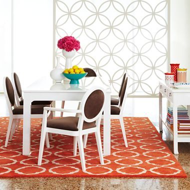 Happy Chic By Jonathan Adler Crescent Heights Dining Furniture   Jcpenney  {I LOVE This Room