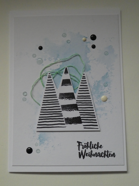 Pin von Ghizlane auf Meine Weihnachtskarten 2017   Pinterest ...