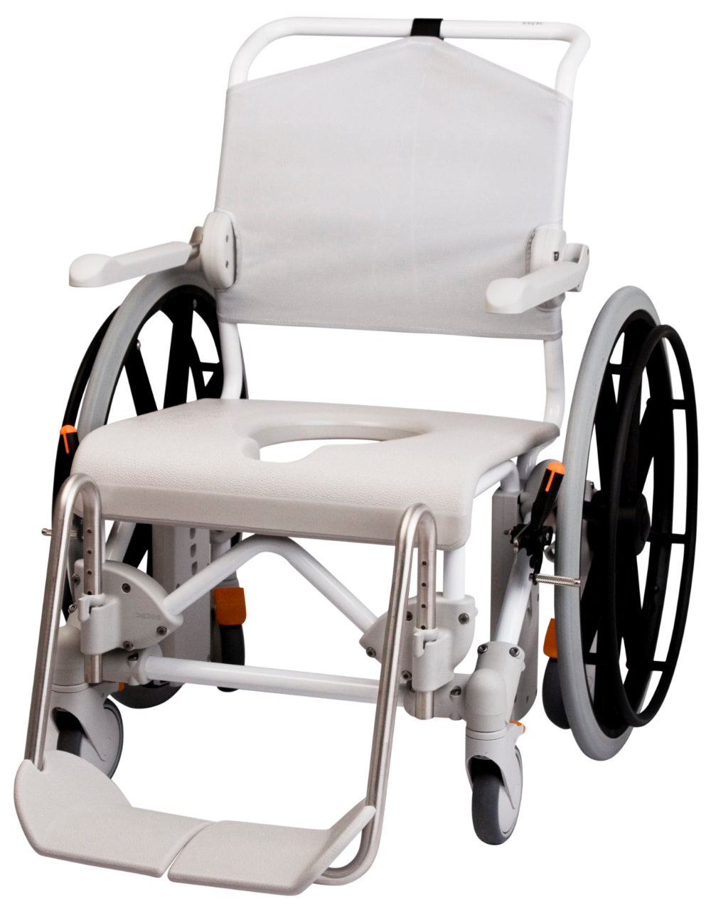 Etac Swift Mobile 24 Shower Commode Chair options, Seat