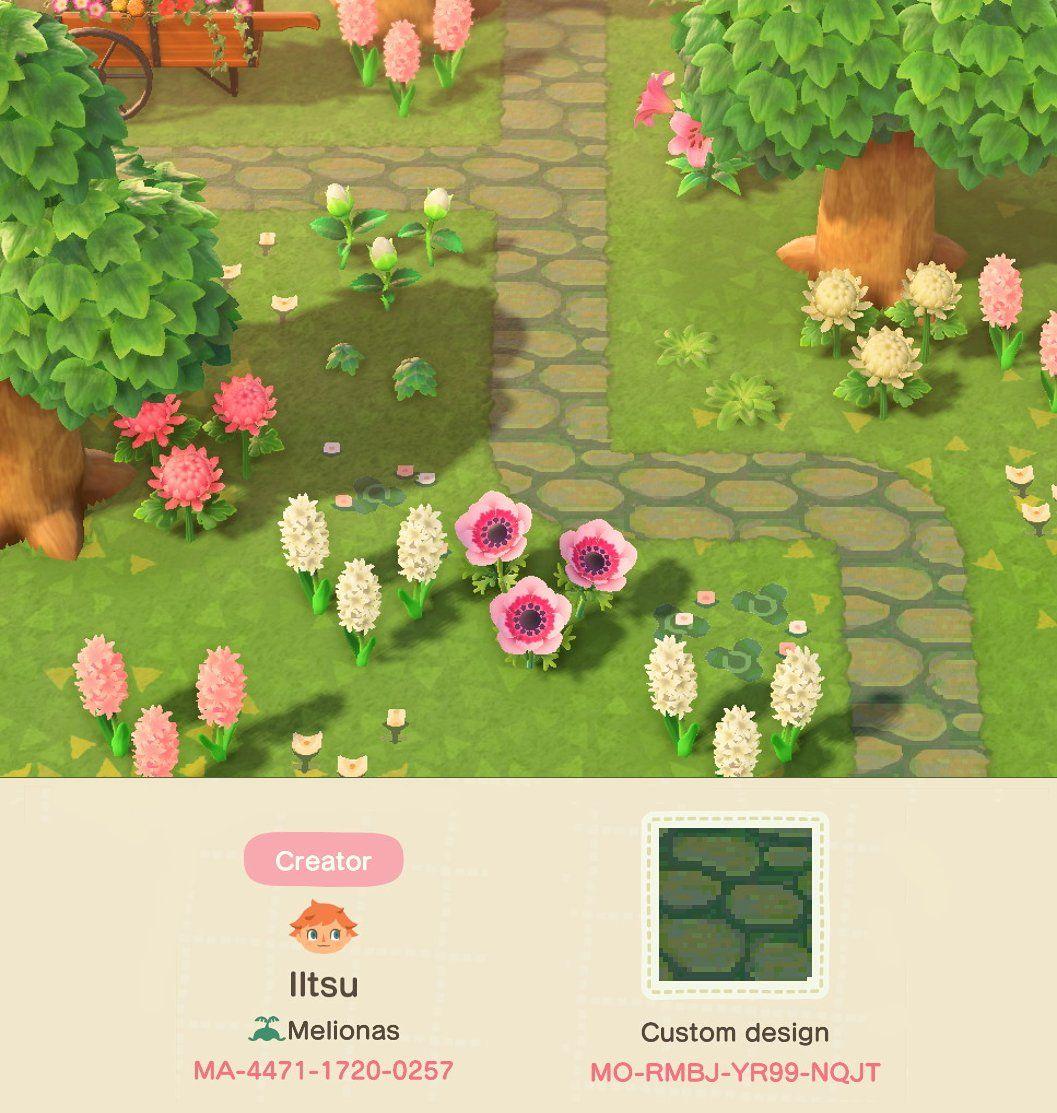 10+ Stone path animal crossing ideas