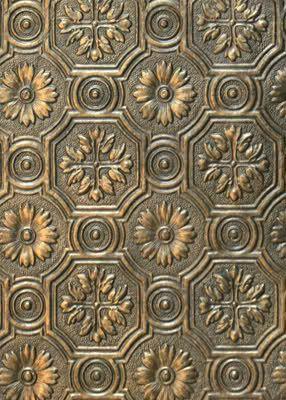 Anaglypta Made To Look Like Metal Anaglypta Wallpaper Victorian Wallpaper Wallpaper
