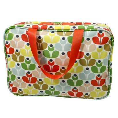 Orla Kiely Sweet Pea Weekender. I use my as a big ol' bible book ...