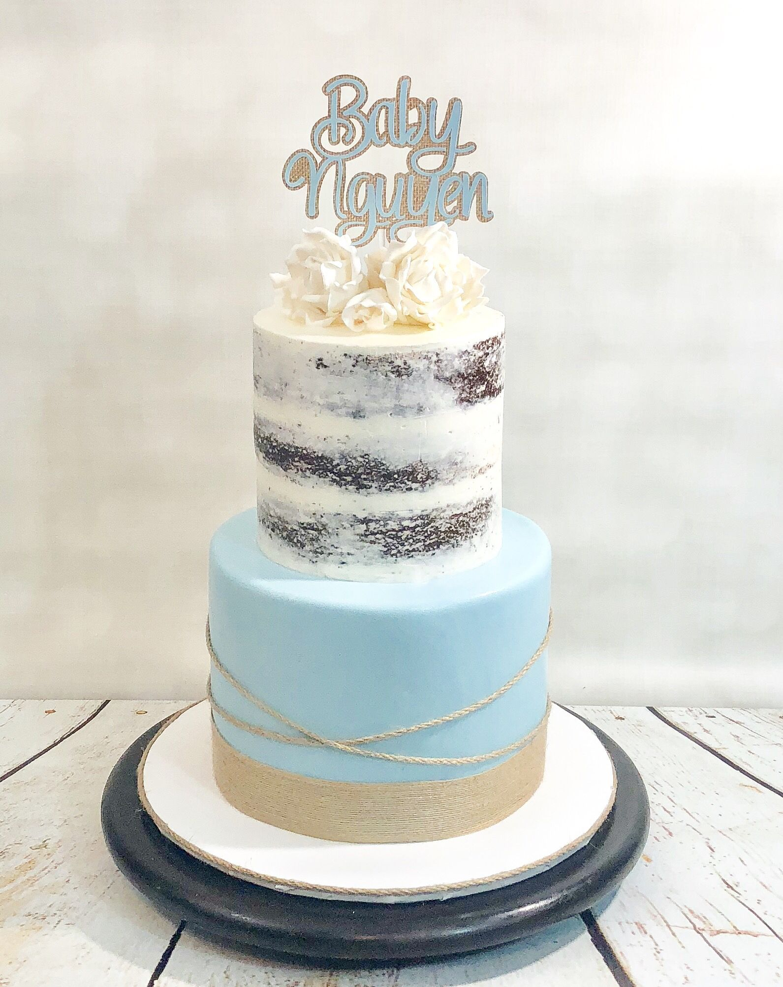 Make cake Tiered cakes, Rustic cake, Shower cakes