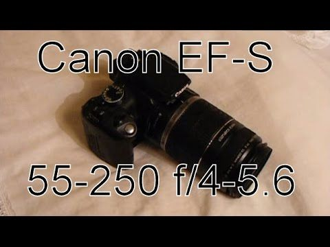 Canon EFS 55-250mm f/4-5.6 IS II Telephoto Zoom Lens Review For Digital