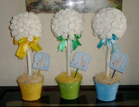 centro de mesa Cumpleaños Pinterest Centerpieces, Baptism - centros de mesa para baby shower