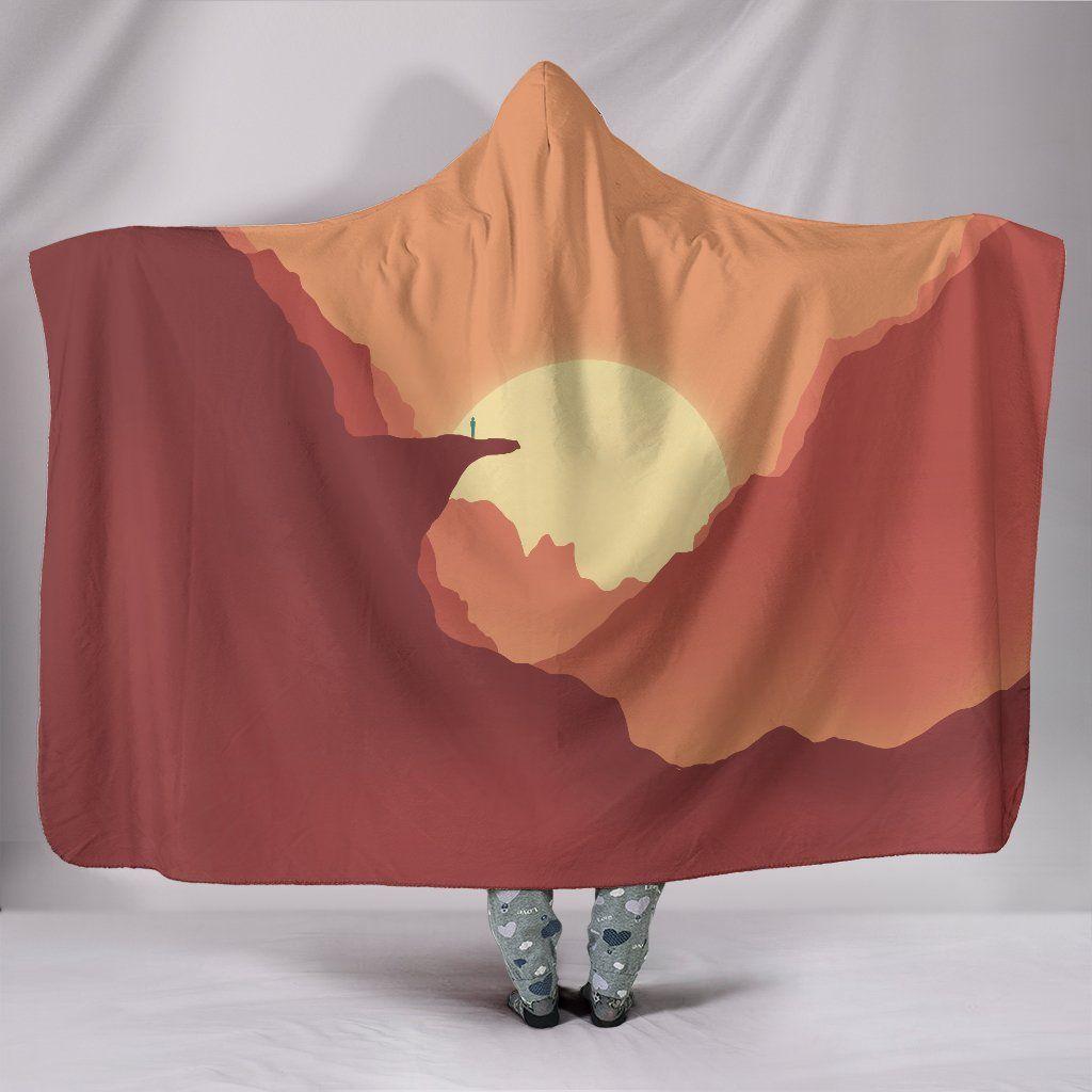 Photo of Desert Dreamer – Hooded Blanket – Desert Dreamer / Adult 80×60