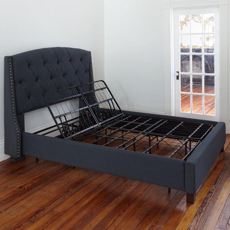 Abber 14 Adjustable Metal Bed Frame With Images Adjustable