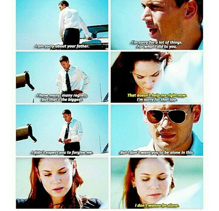 Michael Scofield and Sara Tancredi!!!