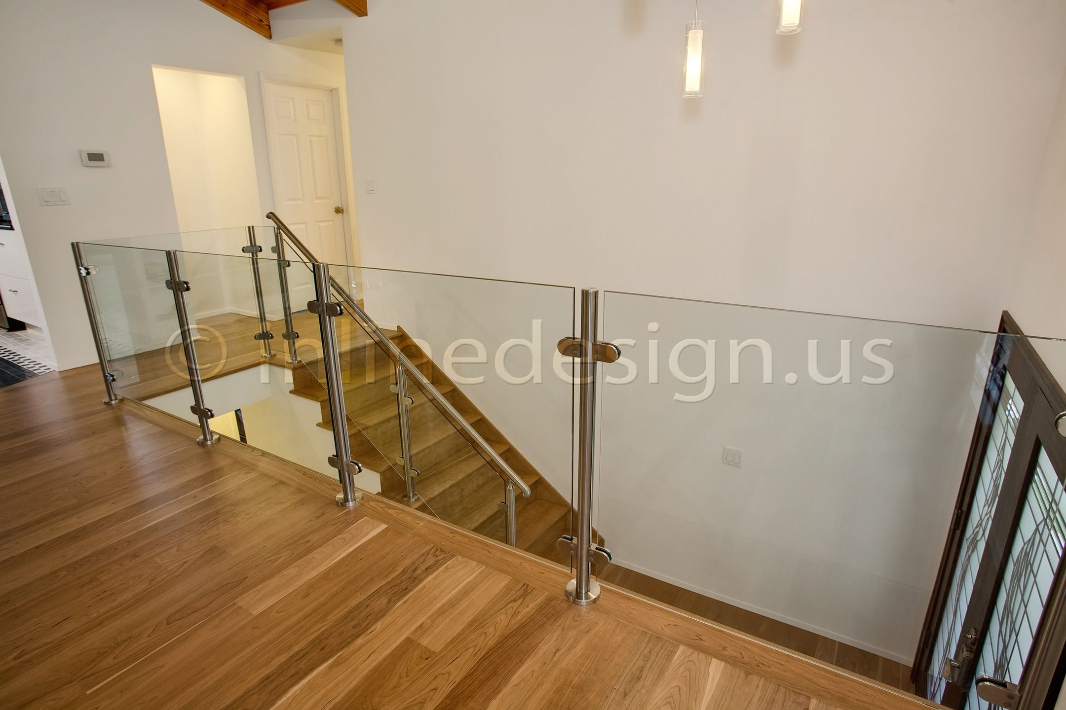 Contemporary Glass Railings Wa Album Modern Stainless Steel Railing Handrail Of Cable