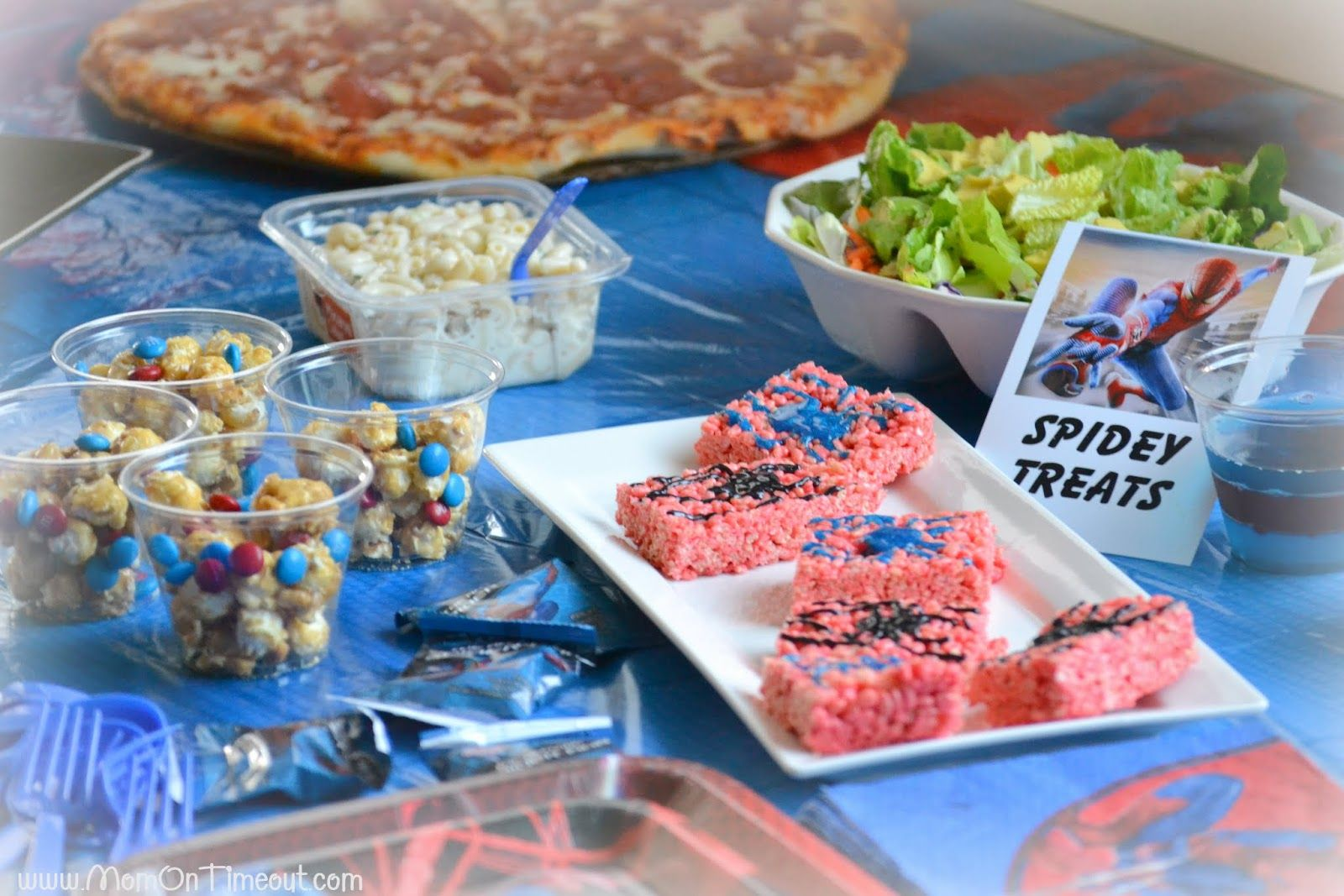 Host An Amazing Spiderman Party Theme Includes Food And Fun