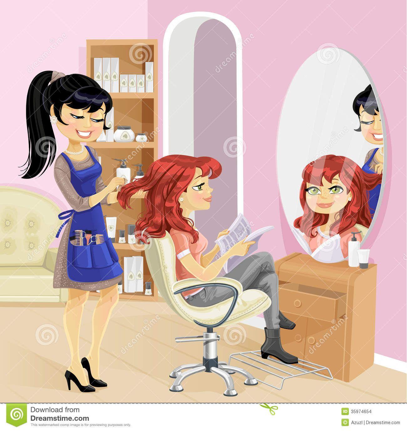 Hair Beauty Salon Clip Art Hair And Beauty Salon Beauty Salon Hairdresser