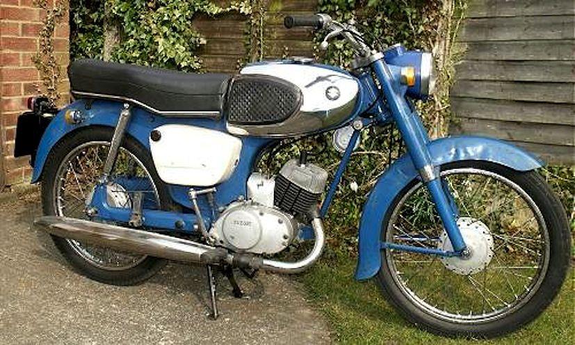 1960 Suzuki 80 Model K10 79cc Single Cylinder 2-Stroke