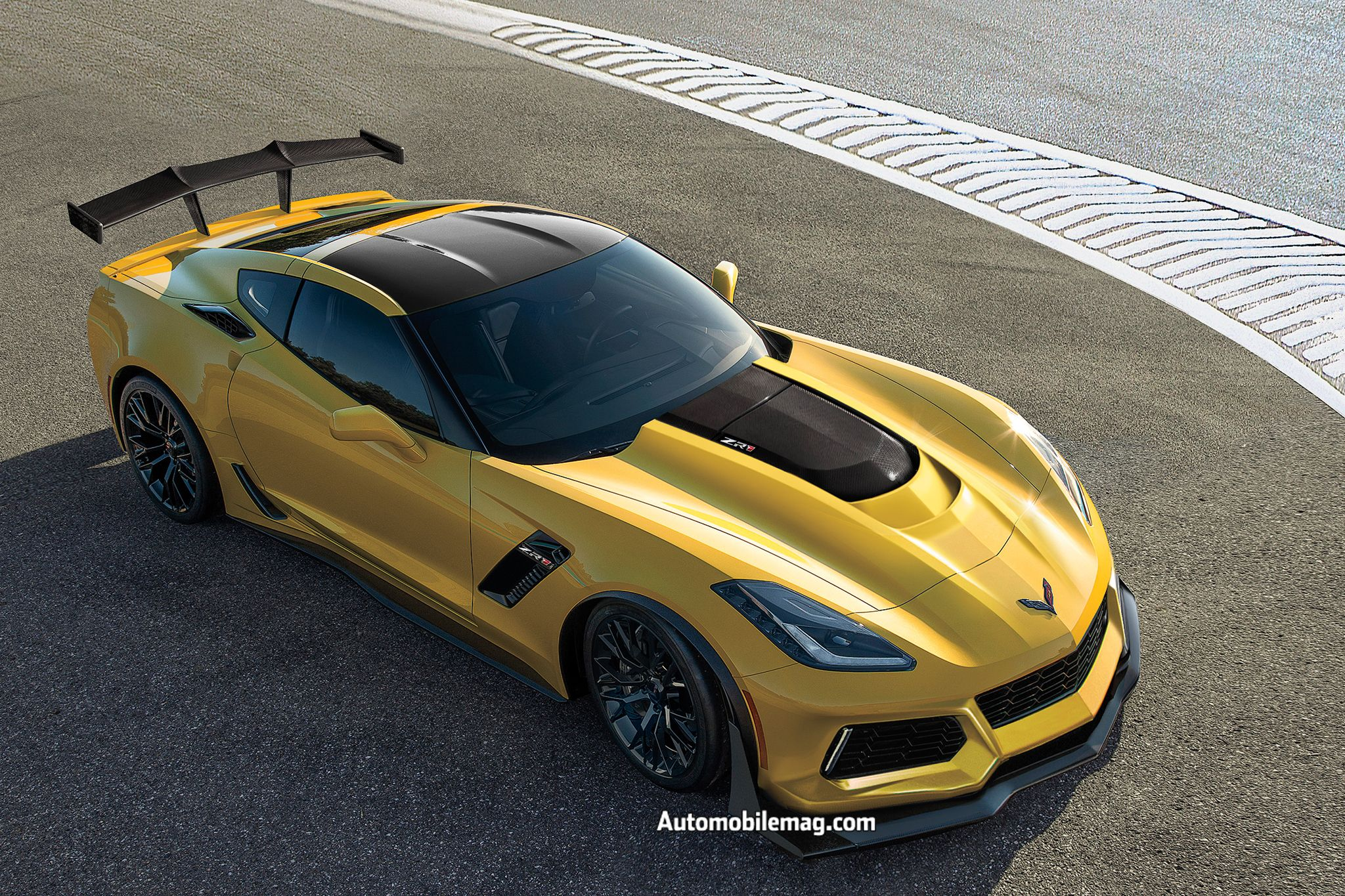 2019 Chevrolet Corvette Zr1 To Debut At 2017 Dubai Motor Show